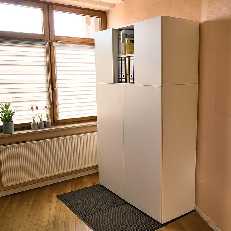 Aufsatzelement BASIC Zweitürig für HomeBox 120 und 160 - Home-Office auf Mass