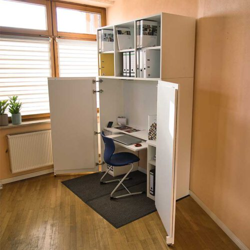 Aufsatzelement BUSINESS für HomeBox 120 und 160 - Home-Office-auf-Mass