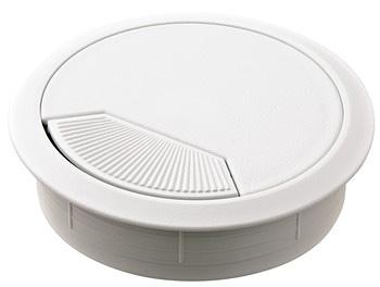 Kabeldurchlass Standard weiss Homebox - Homeoffice auf Mass