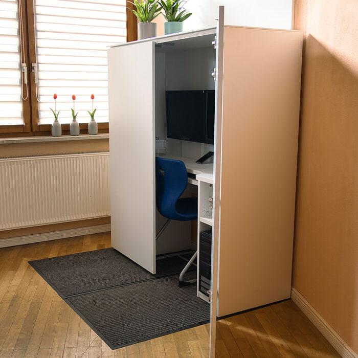 HomeBox - Home-Office im Schrank - Intelligent zu Hause arbeiten